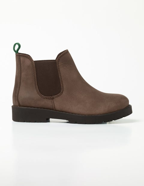 Leather Chelsea Boots Chocolate Brown Boys Boden