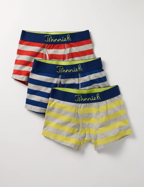 3 Pack Jersey Boxers Stripe Boys Boden