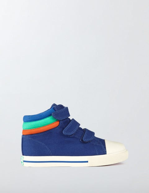 Canvas High Tops Starboard Boys Boden Starboard