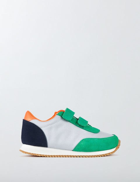 Suede Trainers Astro Green Boys Boden Astro Green