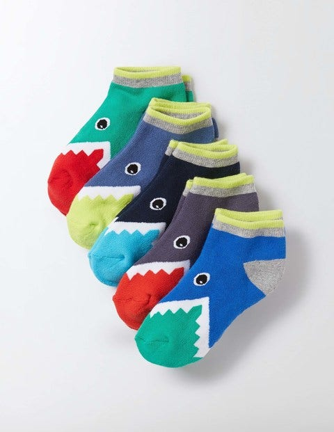 Boden 5 pack terry trainer socks crocodile pack boys for Boden direct uk