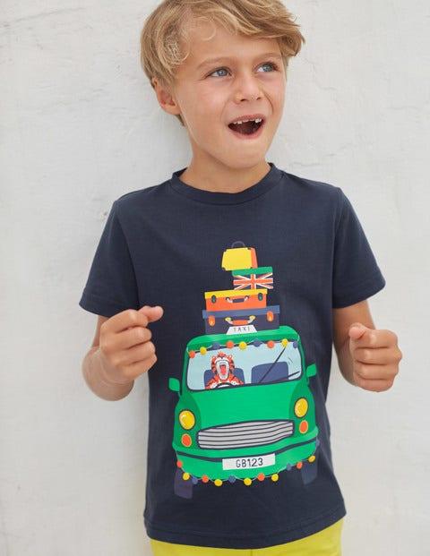 Animal Antics T-Shirt - Navy