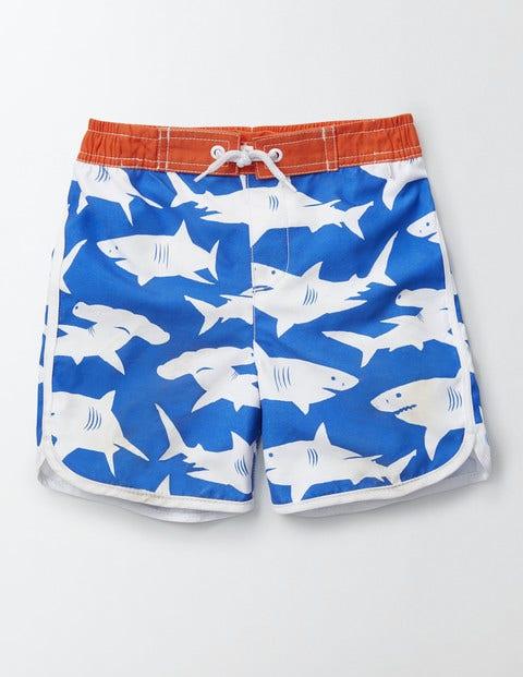 Surf Shorts Skipper Sharks Boys Boden, Skipper Sharks