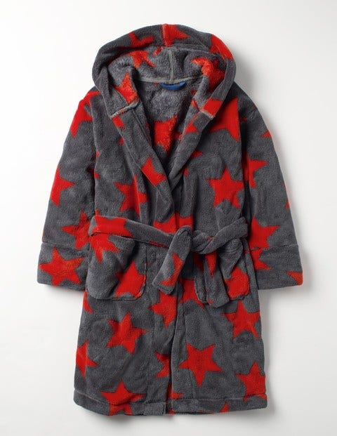 Product photo of Dressing gown red boys boden red