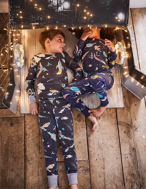 a3e61d87b1 Glow-in-the-dark Long Pyjamas B0288 Long Johns at Boden