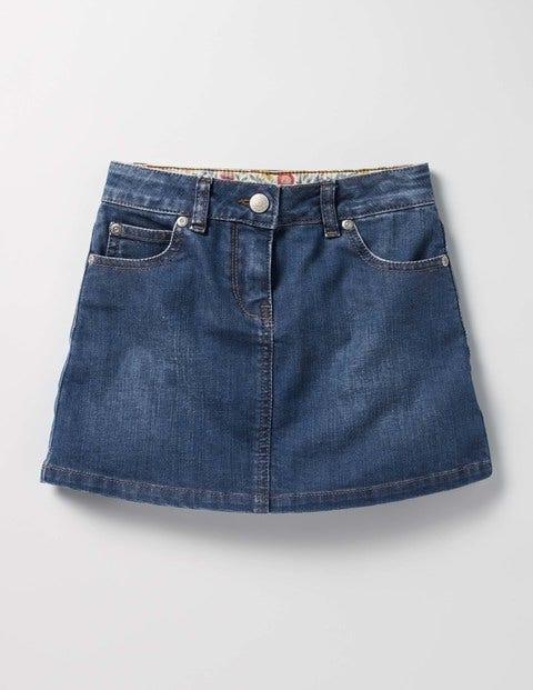 Heart Pocket Skirt Mid Vintage Girls Boden