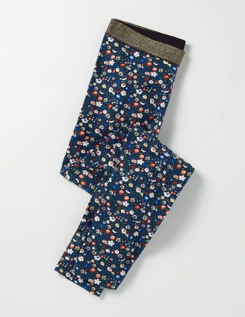 Sparkle Detail Leggings Ditsy Folk Floral Girls Boden