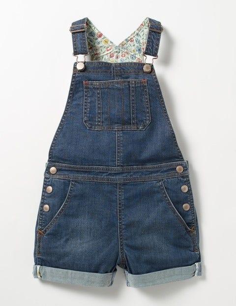 Short Denim Overalls Mid Vintage Girls Boden