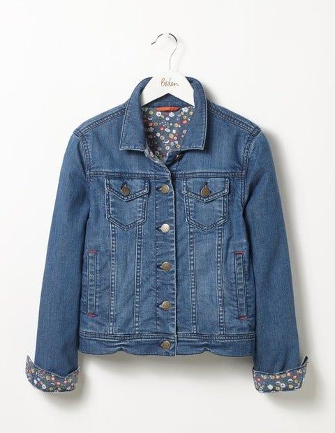 Denim Jacket Mid Vintage Girls Boden