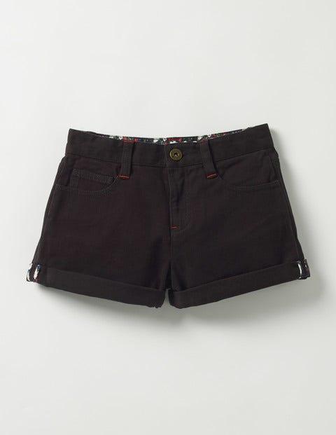 Turn-up Shorts Black Girls Boden, Black