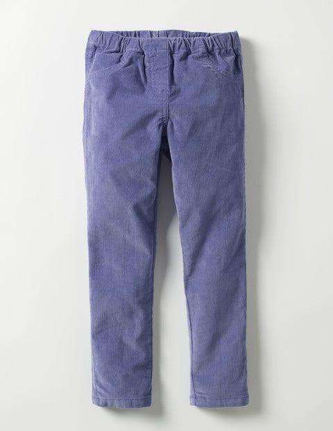 Cord Leggings Dark Wisteria Purple Girls Boden