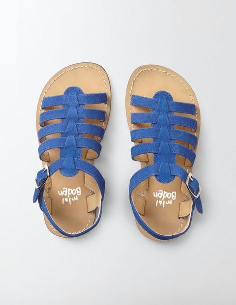 Leather Gladiator Sandals Klein Blue Girls Boden