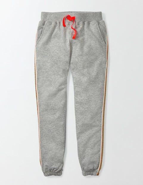 Evesham Sweatpants Grey Marl Girls Boden, Grey Marl.