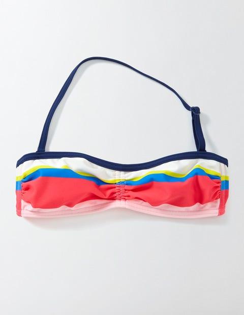 Bikini Halter Top Multi Stripe Girls Boden Multi Stripe