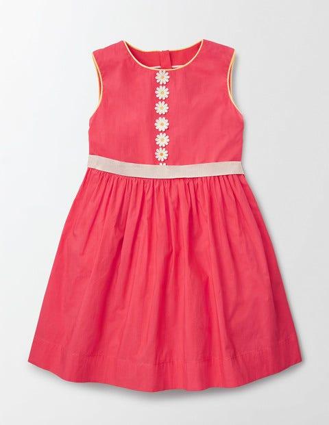 Daisy Bow Dress Pinkberry Girls Boden