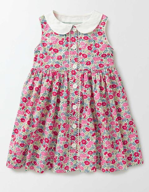 1930s Childrens Fashion: Girls, Boys, Toddler, Baby Costumes Nostalgic Woven Dress Pink Fizz Flower Bed Girls Boden Pink Fizz Flower Bed £21.00 AT vintagedancer.com