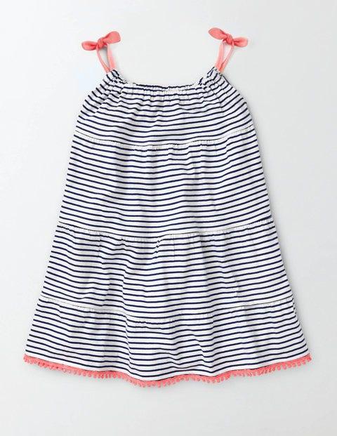 Jersey Sundress - Ivory/Starboard Stripe