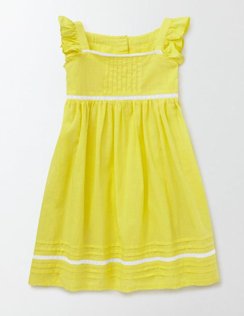 Lace Insert Dress Pineapple Girls Boden