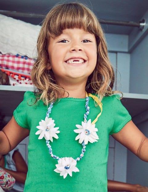 Fabric Necklace - Mini Ecru
