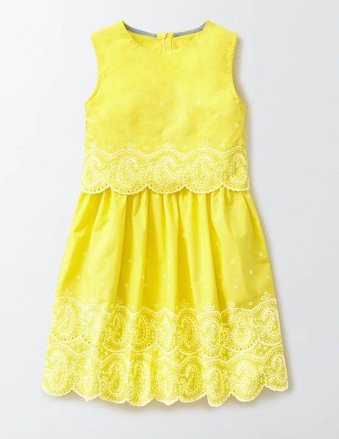 Polly Dress Pineapple Girls Boden