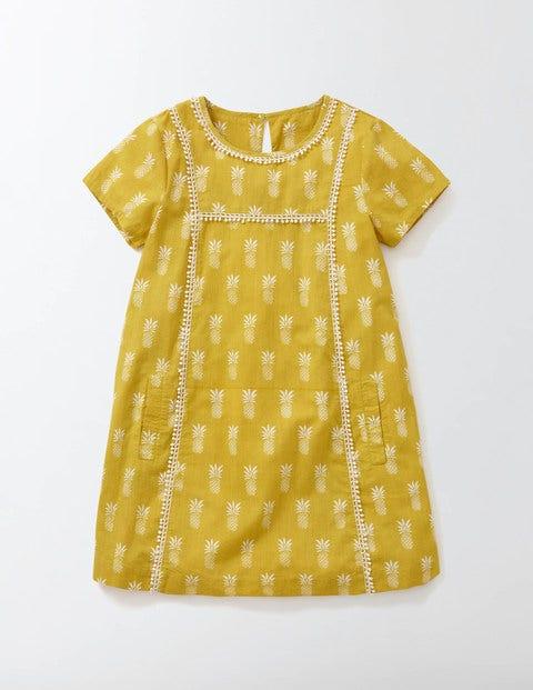 Summer Kaftan Mimosa Pineapples Girls Boden