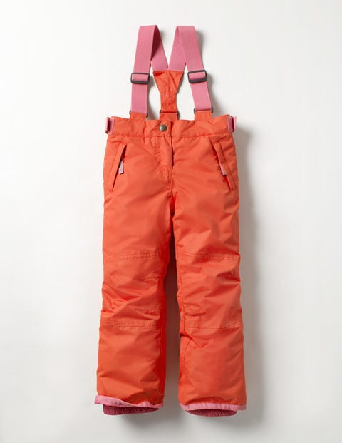 All-weather Waterproof Pants Rosehip Red/Plum Blossom Pink Girls Boden