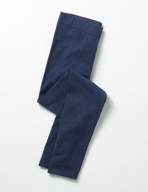 Cosy Essential Leggings School Navy Girls Boden