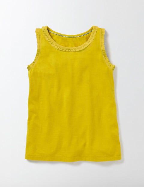 Pretty Vest Yellow Girls Boden, Yellow