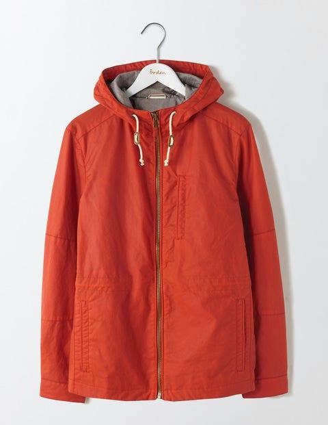 Dulwich Waxed Jacket Terracotta Men Boden, Terracotta.
