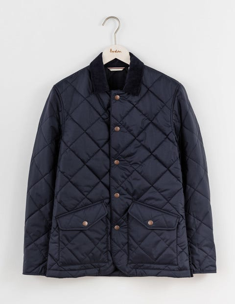 Boden catalogue men 39 s outerwear from boden at for Boden quilted jacket
