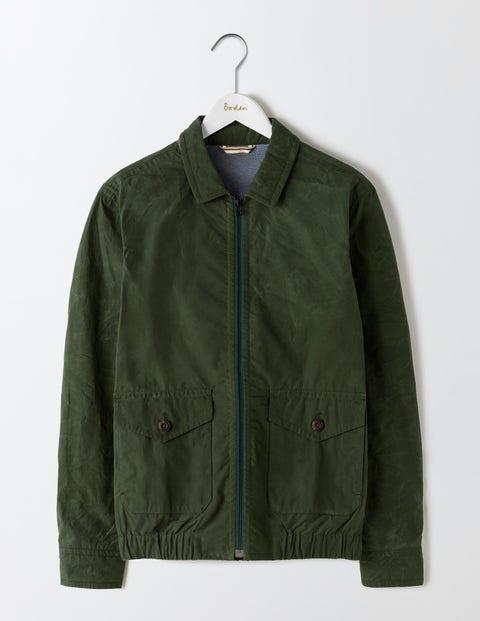 Swinton Waxed Jacket Spruce Green Men Boden