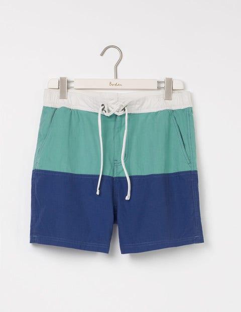 Summer Swimshorts Minty Green/Royal Marine Men Boden