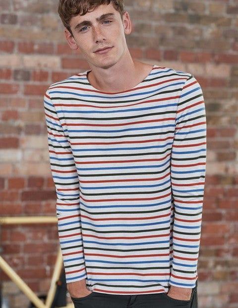 1960s – 1970s Mens Shirts- Dress, Mod, Disco, Turtleneck Breton Mariner Oatmeal Marl Multi Stripe Men Boden Oatmeal Marl Multi Stripe £38.00 AT vintagedancer.com