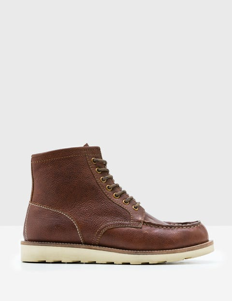 Winter Chukka Boots Brown Leather Men Boden
