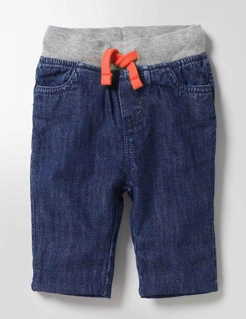 Rib Waist Pants Mid Denim Boys Boden
