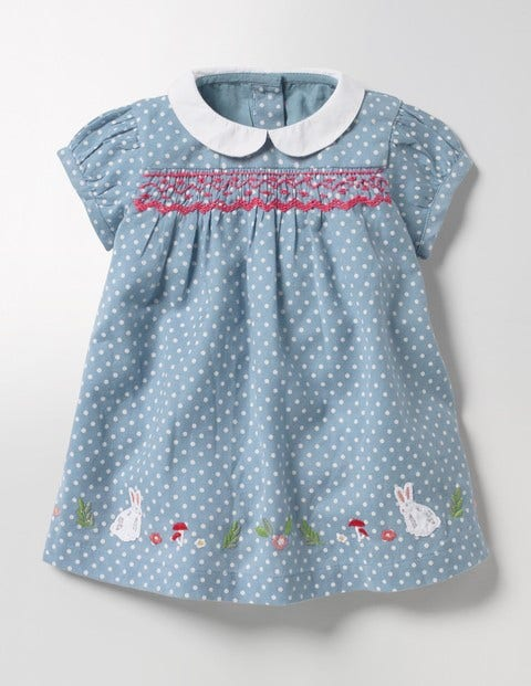 163640205052 Pretty Collared Smock Dress Y0069 Day Dresses at Boden