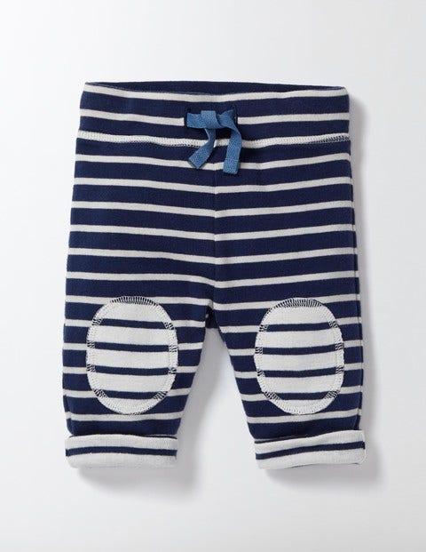 Reversible Knee Patch Skinnies Beacon BlueIvory Stripe Baby Boden Beacon BlueIvory Stripe