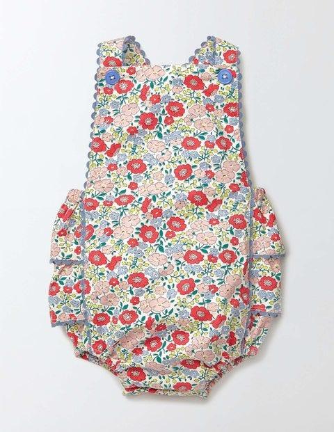 Vintage Style Children's Clothing: Girls, Boys, Baby, Toddler Nostalgic Summer Playsuit Peach Sorbet Mini Flower Bed Baby Boden Peach Sorbet Mini Flower Bed £23.00 AT vintagedancer.com