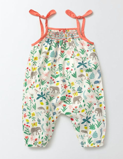 Vintage Style Children's Clothing: Girls, Boys, Baby, Toddler Summer Days Playsuit Multi Baby Tropical Garden Baby Boden Multi Baby Tropical Garden £24.00 AT vintagedancer.com
