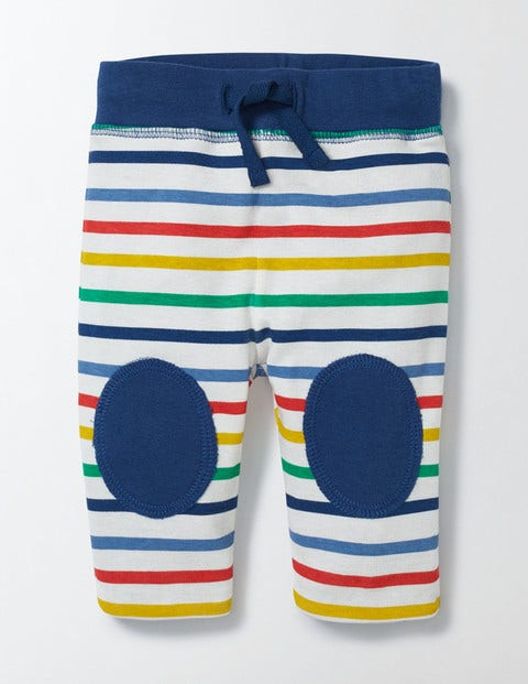 Reversible Knee Patch Skinnies Fun Multistripe Baby Boden Fun Multistripe
