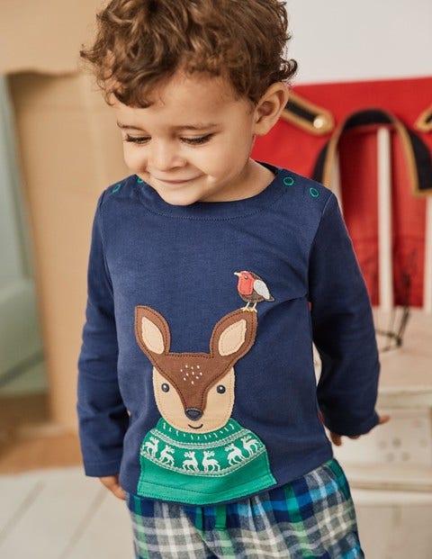 Festive Animals Play Set - Beacon Blue Deer