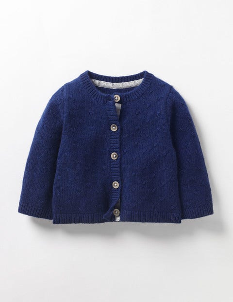 Image of Baby Cashmere Cardigan Navy Baby Boden, Navy
