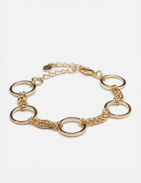 Erin Bracelet Gold Metallic Women Boden
