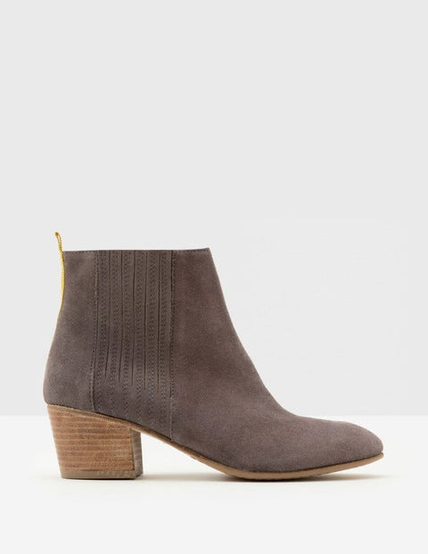 Alford Ankle Boots Pewter Women Boden