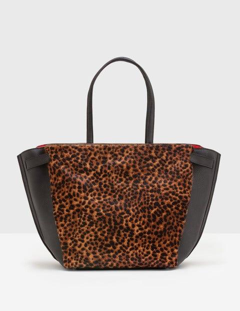 Valence Shoulder Bag Tan Leopard Women Boden