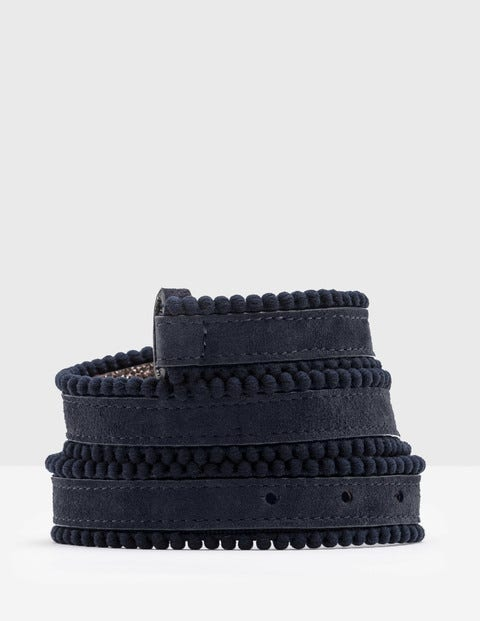 Polly Waist Belt - Navy