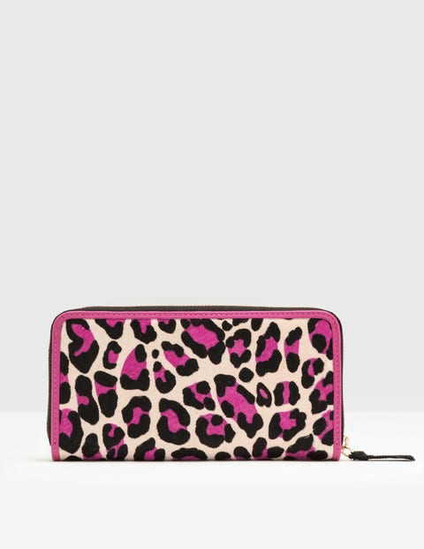 Paola Purse Pink Leopard Women Boden, Pink Leopard