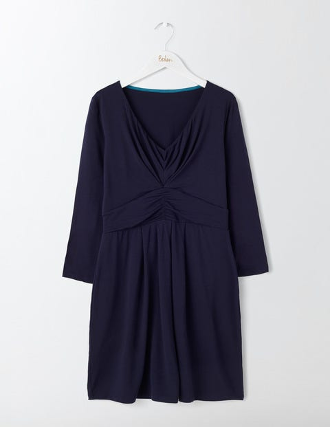 Marion Jersey Tunic - Navy