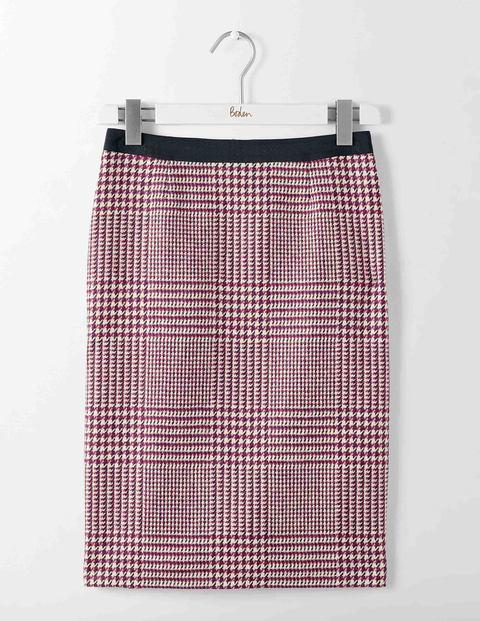 Jupe crayon en tweed britannique T0016 Jupes en-dessous du genou ... 3666876948ec