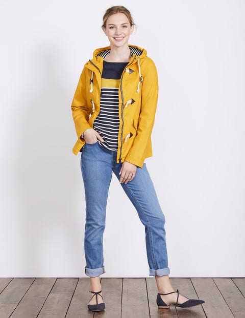 Whitby Waterproof Jacket - Saffron